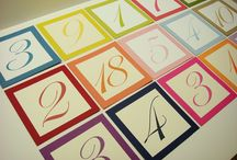 TABLE NUMBERS - WED