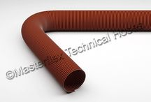 Master-SIL / Flexible Ducting made from Silicone / glass fabric.