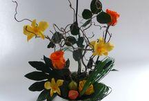 Créations florales en fleurs stabilisées / Osez les fleurs stabilisées / fleurs conservées pour une tenue de longue durée et un aspect tout à fait naturel