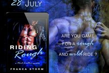 RIDING ROUGH (Hard Leather, #1) / Riding Rough by Franca Storm