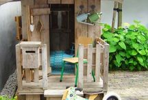 Wooden ideas for outdoor