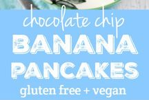 Gluten Free+ Vegan / Free of gluten and animal products AND still every bit as delicious! The perfect recipes for breakfast, lunch, dinner, or dessert!