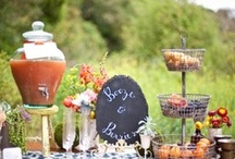 Vintage Tablescape / This table focuses on DIY elements and tons of cool vintage props. / by Amanda Smith