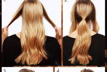 Haare bauen