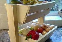fruit groente bak