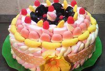TORTE DI CARAMELLE / torte di caramelle e marshmallow