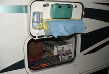 Motor home / Storage and travel ideas
