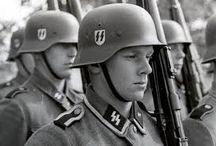 Druga wojna światowa. / Tablica jest o drugiej wojnie światowej.