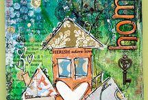 House Art Inspiration / Art revolving around houses