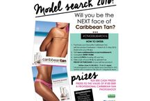 Model Search 2016 / Enter now ladies! You could be the next face of Caribbean Tan SA! You could also win up to R125 000 in Cash and Prizes. Enter here http://www.caribbeantan.co.za/modelsearch