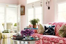 Pink rooms / by Lesley Weidenbener