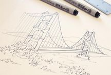 Illustration / Custom illustration, watercolor and printed designs