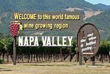 Welcome to Wine Country! 🍇 (Napa, Sonoma, Calistoga, St. Helena) / by Sandra Ferguson Raymond