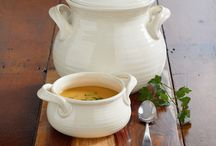 Pottery Soup Bowls