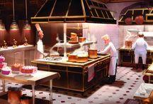 Famous kitchens!