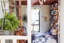 Inspirational Spaces / To escape, brainstorm, crash with friends...