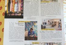 Nina Transfeld Couture Press / A collection of press articles about Nina Transfeld Couture