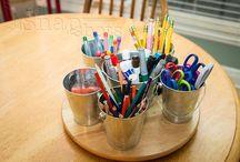 homeschool room/organization