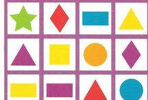thema vormen en kleuren