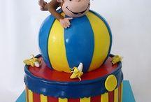 torta George la scimmietta