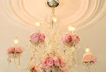 Floral Chandelier & Hanging Decoration