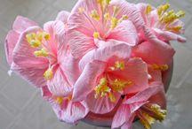 flower making - paper - tutorials
