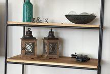 E&E Design vintage industriële Eettafels / industrial Crank dining Table industriële eettafels boekenkasten tv meubels
