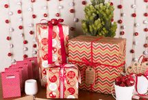Stylish Christmas Wrapping & Decorations / Stylish Christmas Decorations & Present Wrapping Ideas