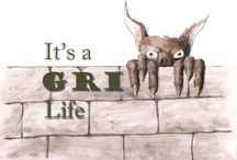 """Tacitus Publishing - It's A Grimm Life / This board highlights the anthology """"It's a Grimm Life"""", Grimm stories told in modern settings."""
