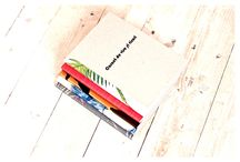 """Carnet de Vise & Visuri / My very first stationery project. A limited edition notebook for """"dreams & hopes"""" with blank pages. It might be an agenda, a shopping list or a journal.  The most important thing is to not stop dreaming."""