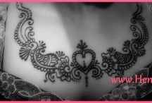 Henna for Valentines Day / Give special effect to your valentines day planning. Get his/her name on your skin by henna tattoo.