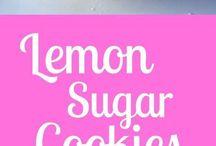 Dulces con limón