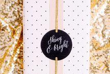 Blingbling - Golden packaging favourites!