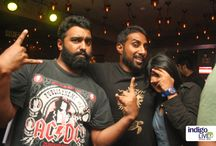 Indigo Live Music Bar Presents Indigo Karaoke / This will remain as one of the most memorable Karaoke Nights in the city. Indigo Live Music Bar launched the country's first Live Band Karaoke in style with Kishan Balaji, Naveen Thomas, Sujay Harthi Vineeth Vincent, Ananth Menon. Tag yourself. Let everyone know that you were there when Live Band Karaoke happened for the first time in the city. #FunYoungBangalore #LiveKaraoke #LiveMusic