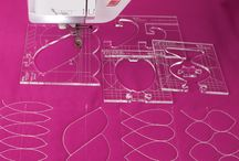 Quilting with rulers or templates♡