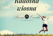 Radosna wiosna :) / Z Biancą Cavatti!
