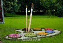 Giardino fontane bianche