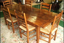 Farmhouse Dining Tables / by Amy Westerman