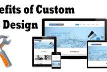 Benefits of Custom Website Design