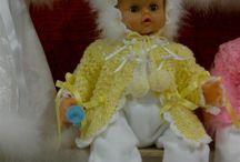 Bambole e lavori fatti a mano / le bambole di stoffa che ho realizzato io