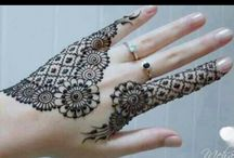 awesome mehndi / by Zubia Tariq