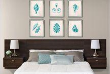 Bedroom ideas / by Iris Burch