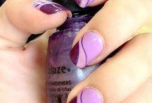 Uñas color violeta - Violet Nails / Diseños de uñas color morado o violeta - Violet designs