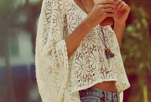 boho clothes / by Kathy Rusynyk