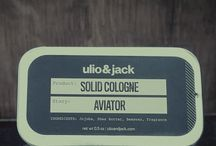 ulio&jack   Products / ulio&jack solid cologne fits in any pocket or bag, making it easy to smell great throughout the entire day, whether you're working, leaving the gym or traveling the world.