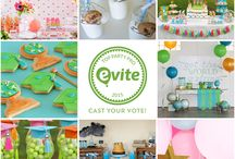Evite Top Party Pro: Preschool Graduation Edition! / 4 stylists selected preschool graduation Evite invitations and then crafted parties around them. Only one can be crowned Evite Top Party Pro! Cast your vote for #ETPP2015: Preschool Graduation Edition at http://bit.ly/1IIhR6z.   Featuring: @amyspartyideas, @greygreydesigns, @lynlees, and @twinklelilparty   / by Evite