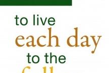 Palliatieve zorg / Afbeeldingen, filmpjes, 'wijze lessen', quotes, posters, campagnes.... Van alles over palliatieve zorg.