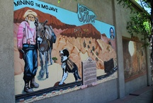 Barstow Murals / Murals abound in the city of Barstow both inside and outside of Barstow's buiildings.