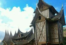World traditional house