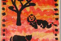 animaux de la savane maternelle